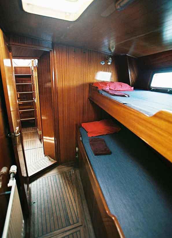 Sailing Antarctica yacht