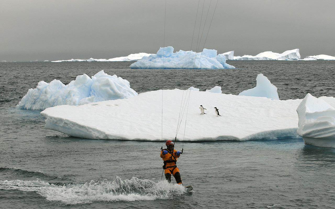 Kiteboarding-Antarctica 1