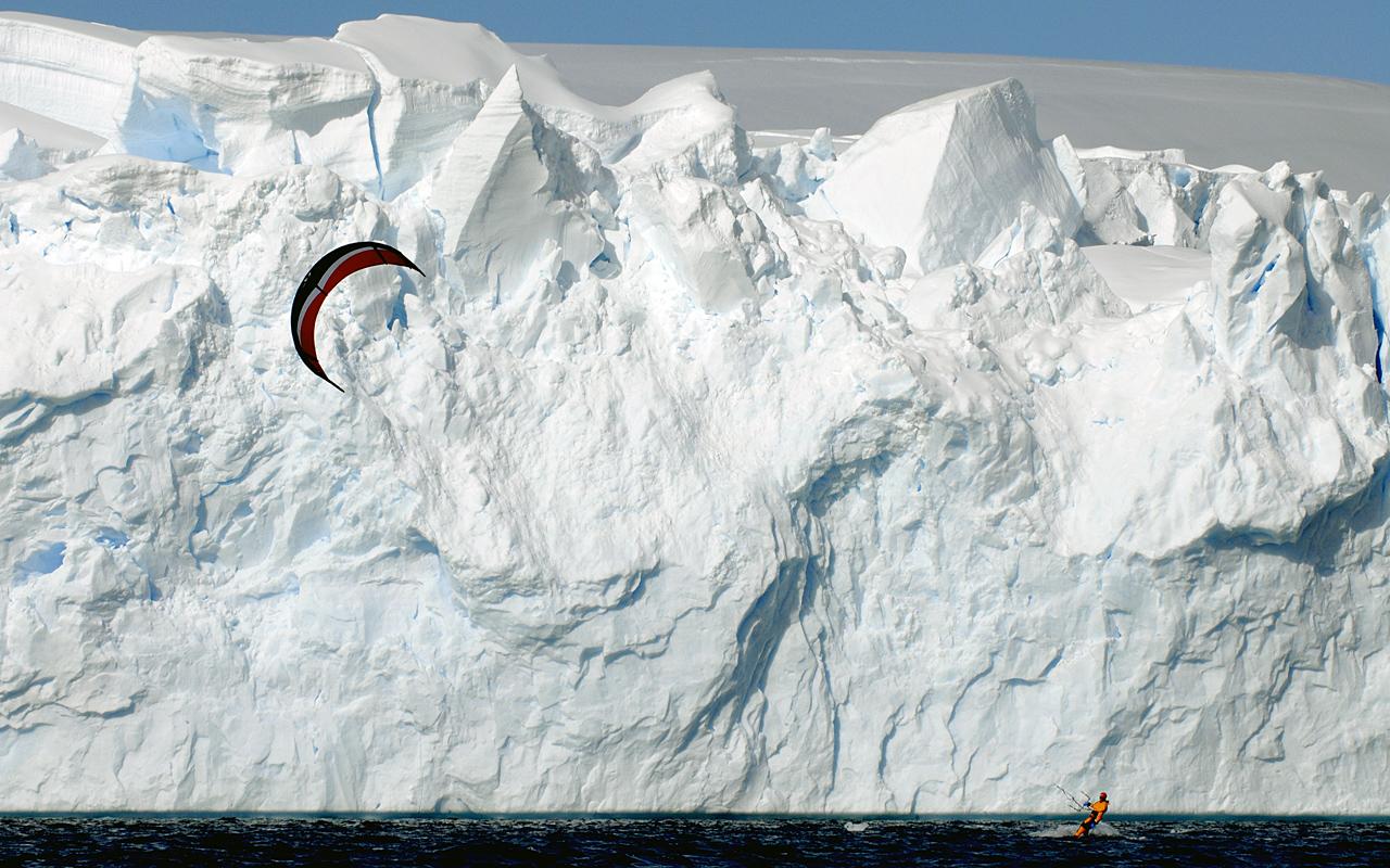 Kiteboarding-Antarctica 4
